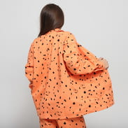 LAZY OAF LO X SA Glazed Over Work Jacket orange / black