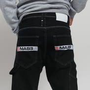 Mass DNM Work Baggy Fit black rinse