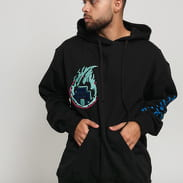 Pink Dolphin Fuel For Fire Hoodie černá