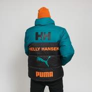 Puma Puma X Helly Hansen Jacket černá / tmavě zelená / oranžová