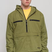 Stüssy Big Pocket Anorak zelená