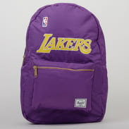 The Herschel Supply CO. Settlement Backpack NBA LA Lakers fialový