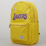 The Herschel Supply CO. Settlement Backpack NBA LA Lakers žlutý