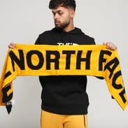The North Face Logo Scarf žlutá / černá