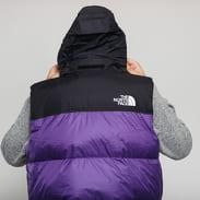 The North Face M 1996 Retro Nuptse Vest fialová / černá