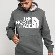 The North Face M Standard Hoodie melange tmavě šedá