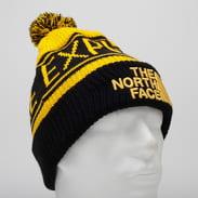 The North Face Retro TNF Pom Beanie žlutý / černý