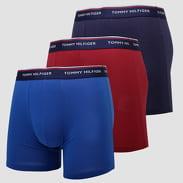 Tommy Hilfiger 3 Pack Boxer Brief modré / vínové / navy