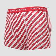 Tommy Hilfiger Trunk Candy Cane červené / bílé