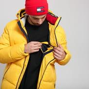TOMMY JEANS M Essential Down Jacket žlutá