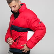 TOMMY JEANS M Reversibile Jacket red / white / navy