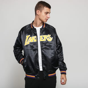 Mitchell & Ness NBA Lightweight Satin Jacket LA Lakers