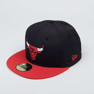 New Era 5950 NBA Black Crown Chicago Bulls
