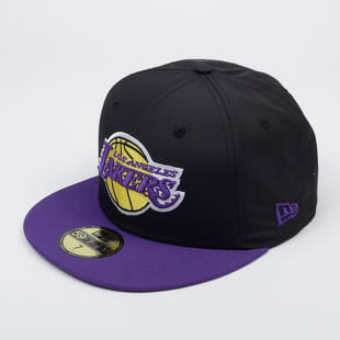New Era 5950 NBA Black Crown La Lakers