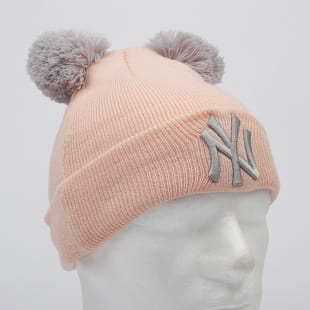New Era Kids MLB Double Pom Knit Cuff NY