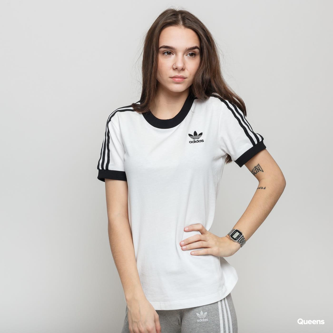 adidas Originals 3 STR Tee biele / čierne