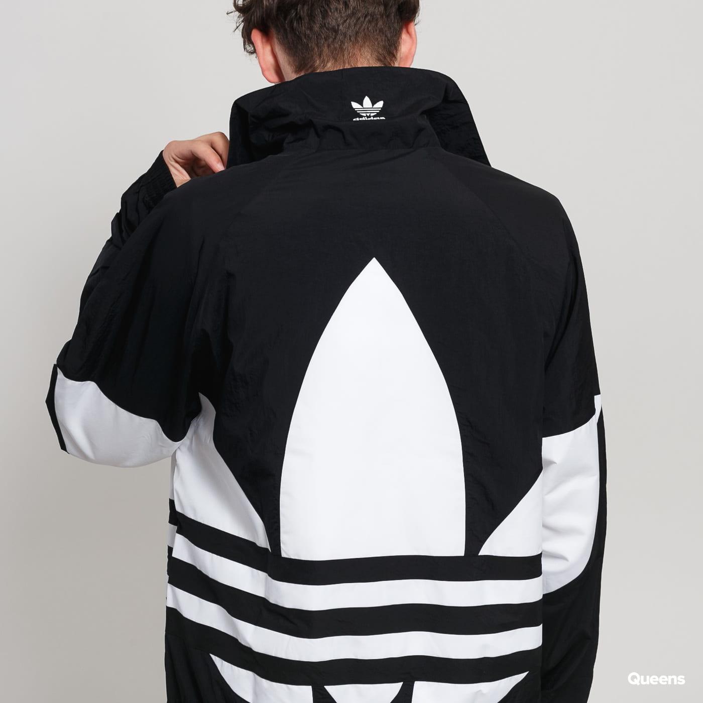 Windbreaker Adidas Originals Big Trefoil Tt Black White
