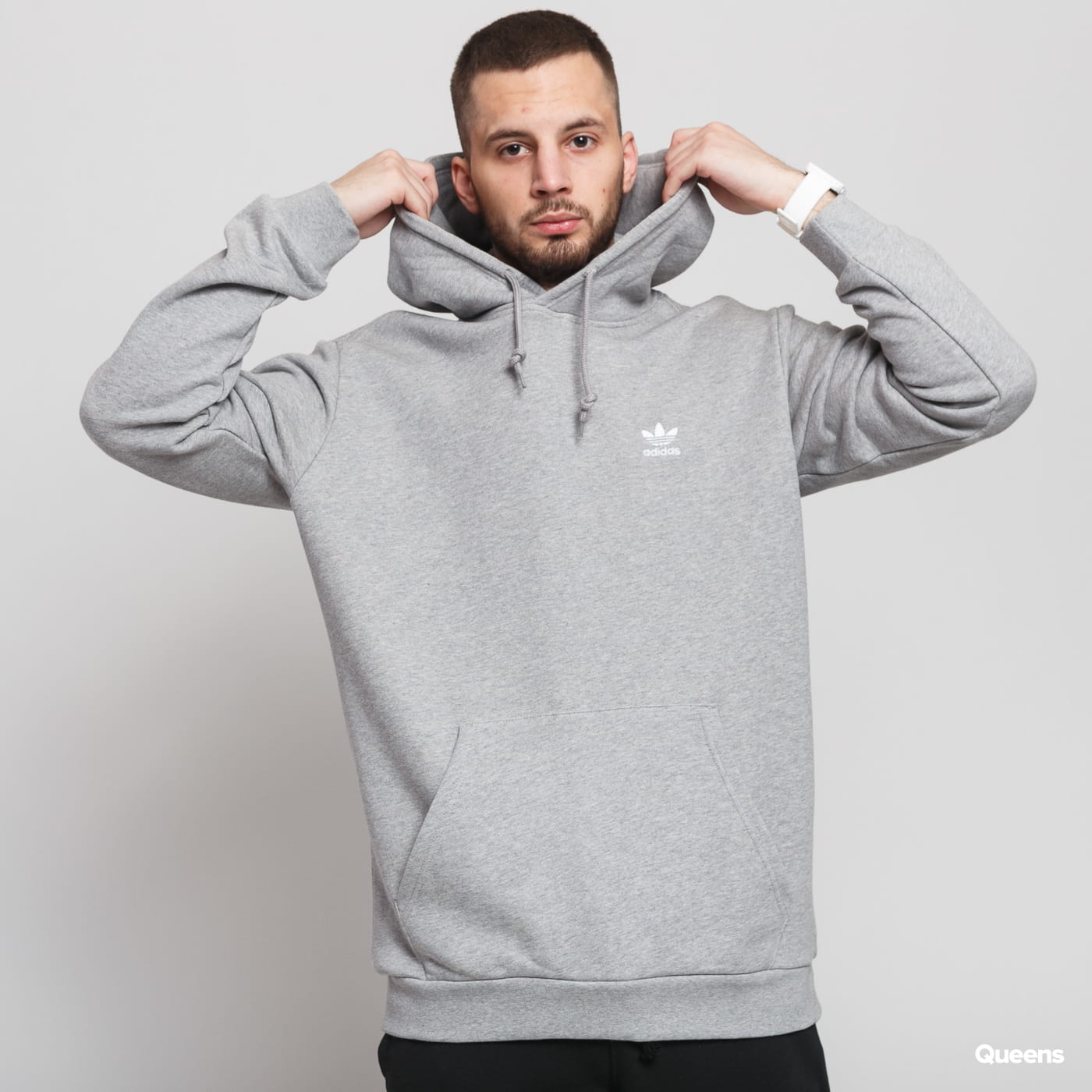 adidas Originals Essential Hoody melange gray