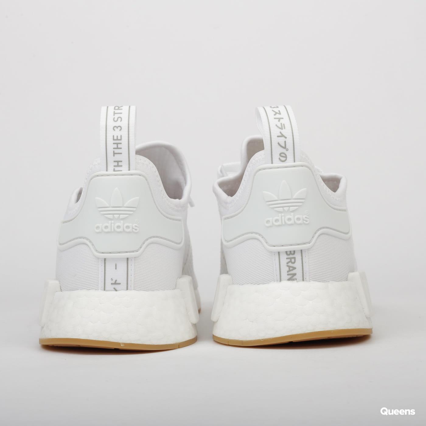 adidas Originals NMD_R1 cloud white / cloud white / crystal white