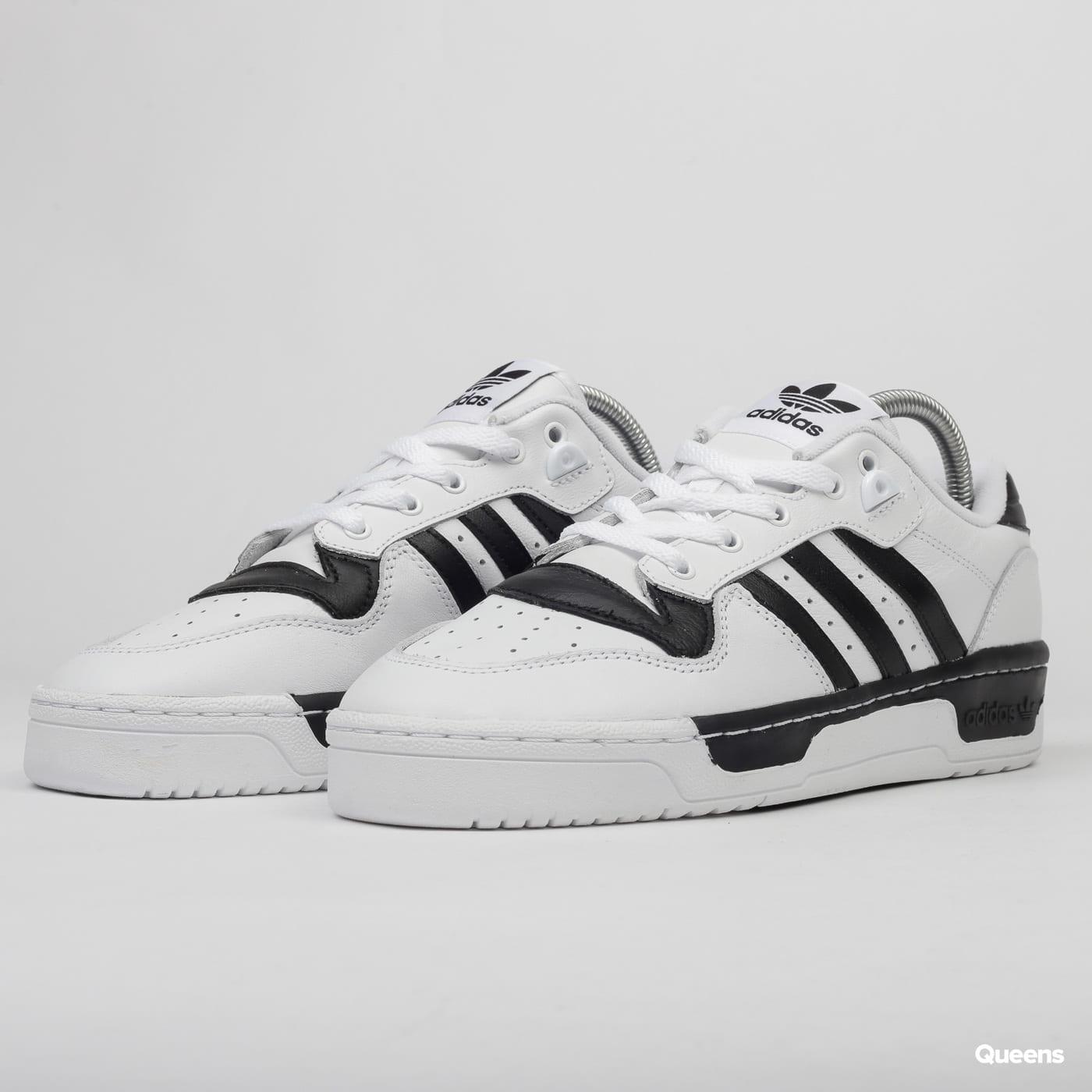 adidas Originals Rivalry Low ftwwht / ftwwht / cblack