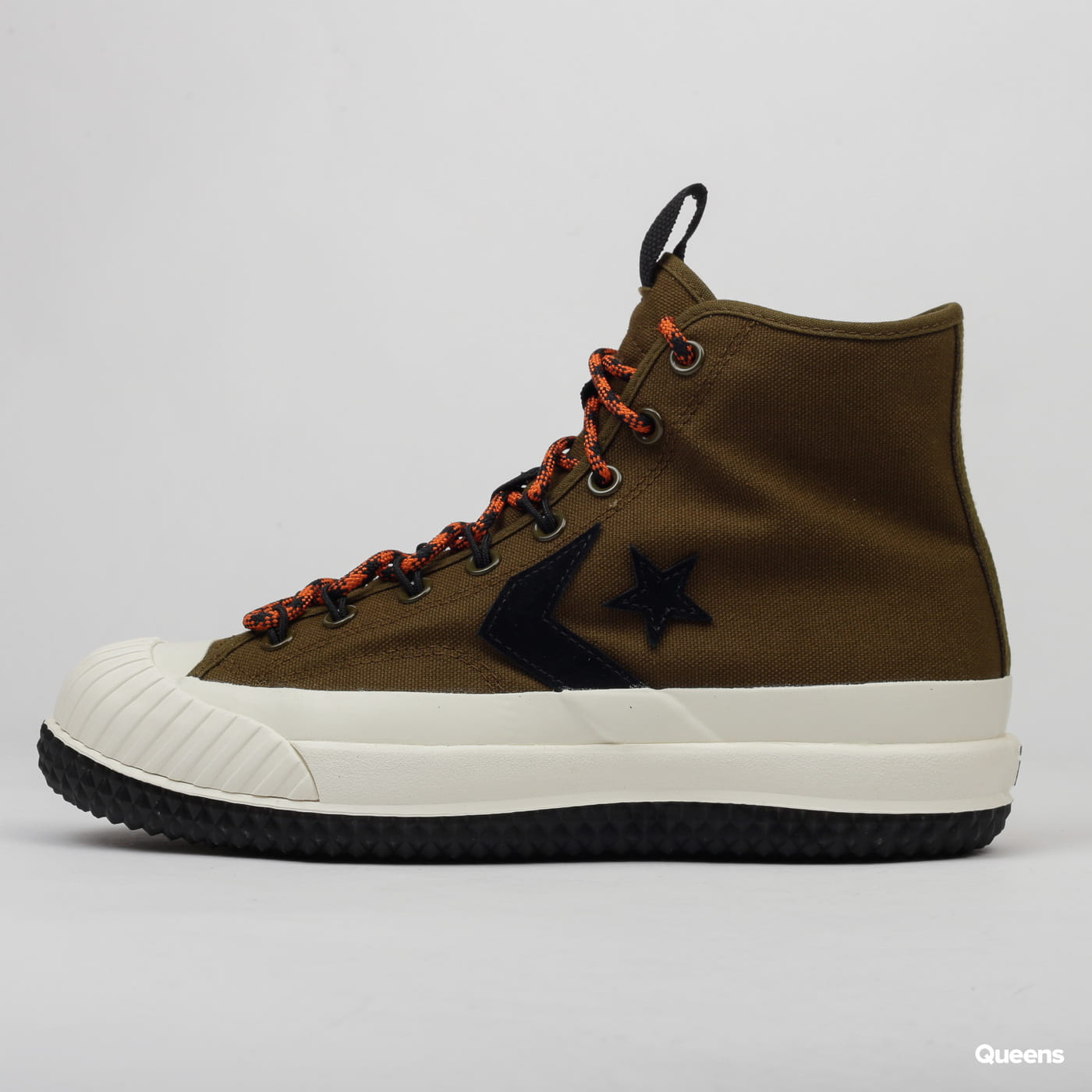 Converse Bosey MC19 Hi surplus olive / campfire orange