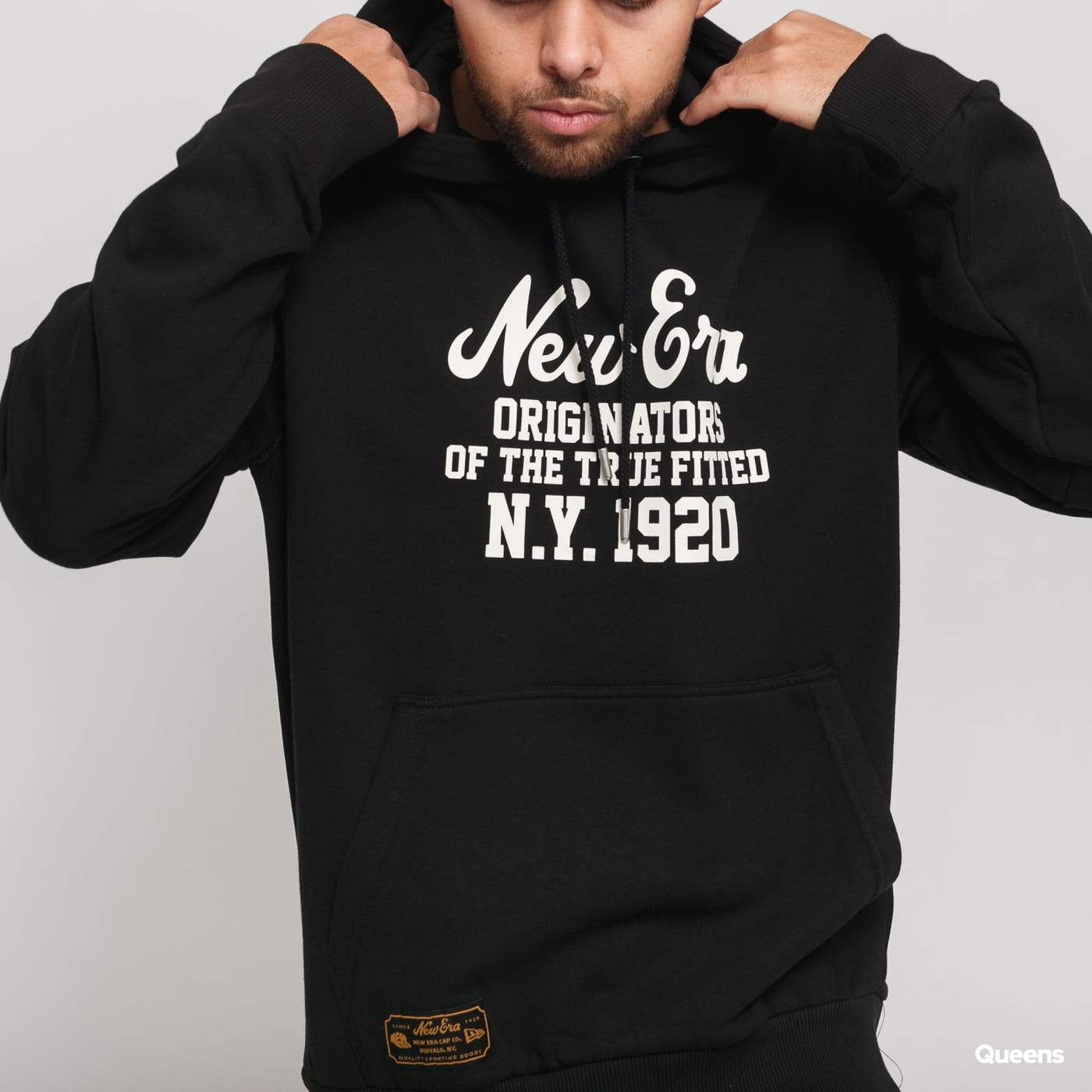 New Era Heritage Established Hoody black