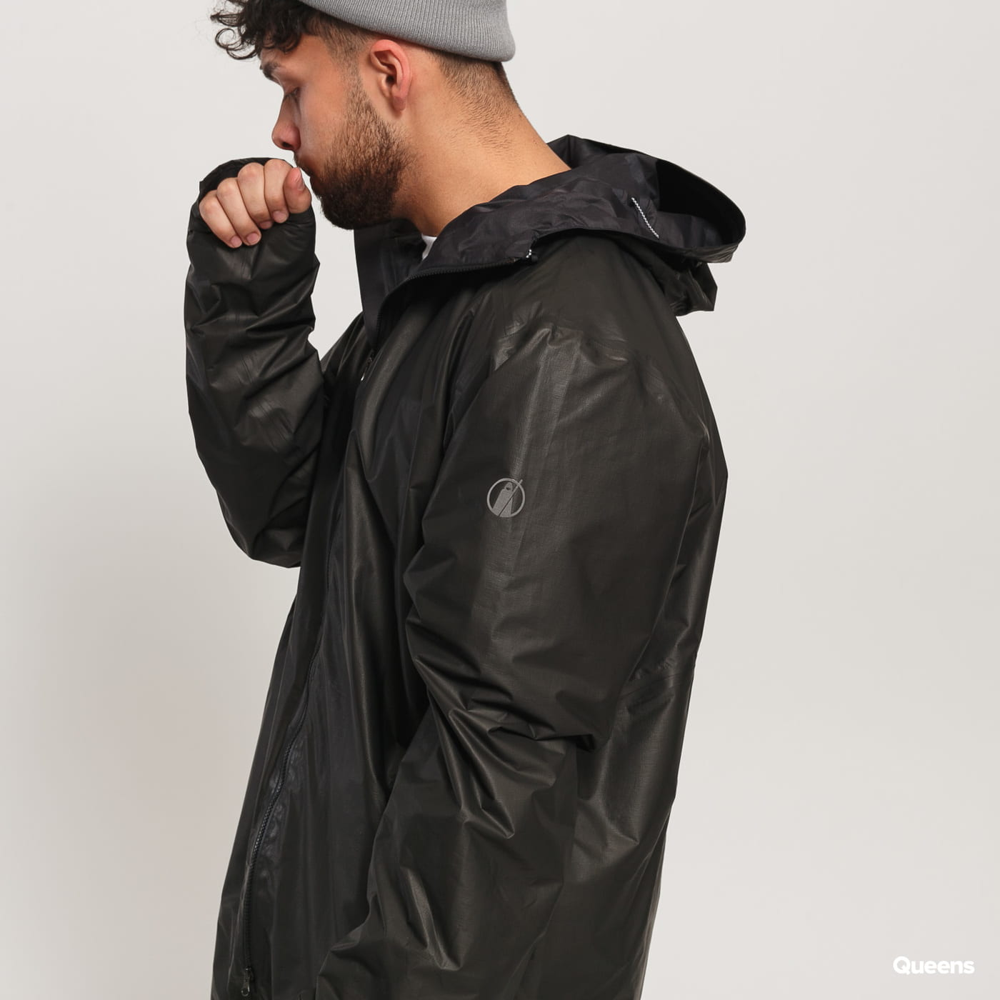POUTNIK BY TILAK Shield Air Coat GTX čierna