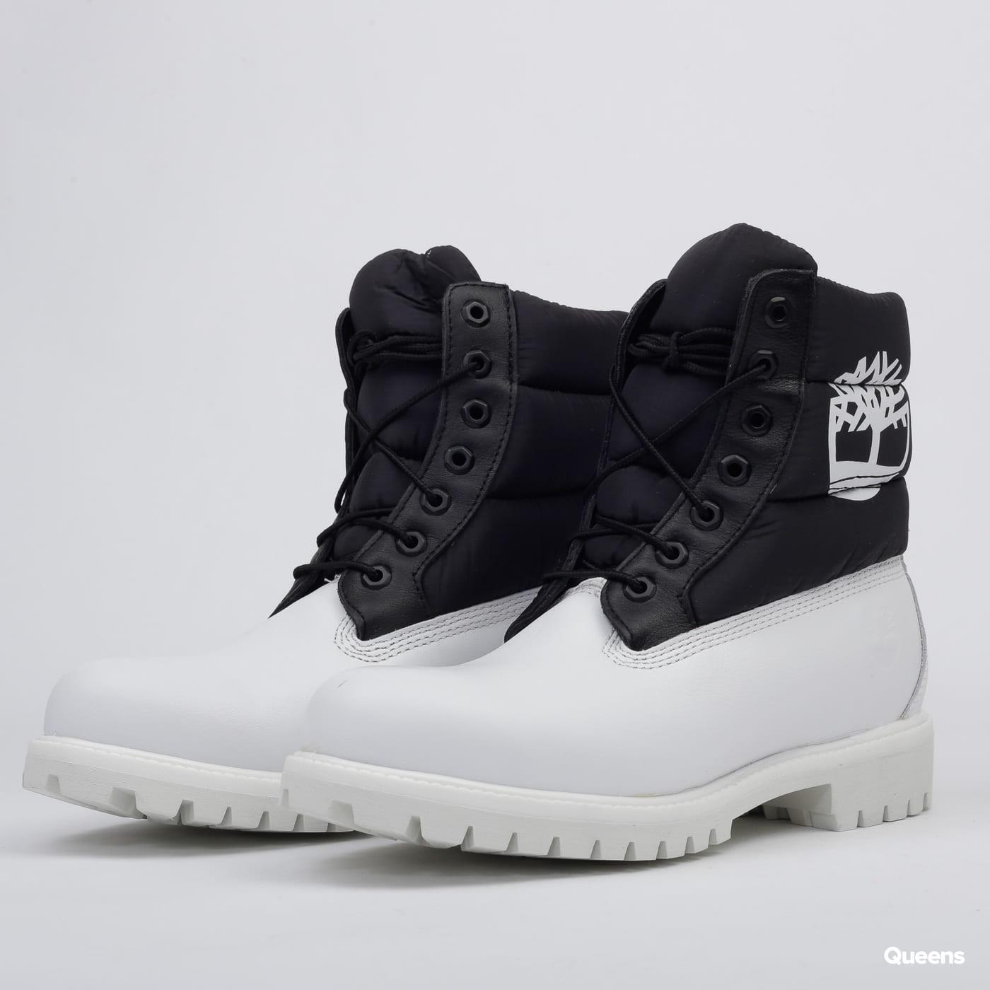 Timberland 6 In Premium Quilt Boot white nubuck