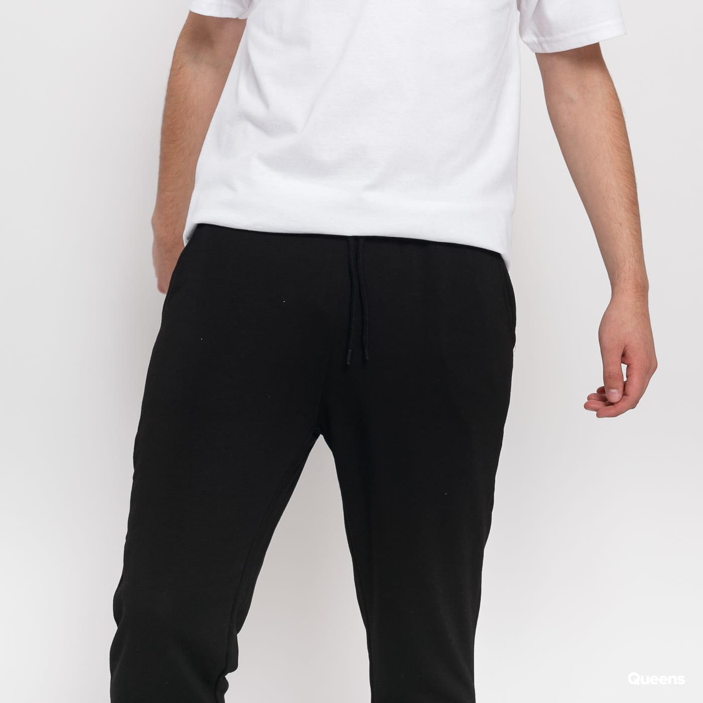 Urban Classics Modal Terry Tapered Sweatpants čierne