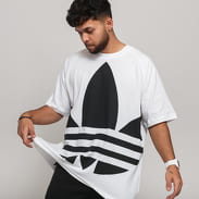 adidas Originals Big Trefoil Tee bílé / černé