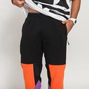 adidas Originals Fleece Pant černé / oranžové / fialové