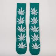 HUF Plantlife Socks tmavě tyrkysové / bílé