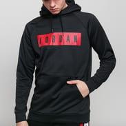 Jordan M J 23Alpha Therma Fleece GFX Po černá