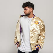Mitchell & Ness NBA Championsip Game Satin Jacket LA Lakers zlatá