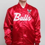 Mitchell & Ness NBA Special Script Satine Jacket Chicago Bulls červená