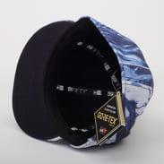 New Era 5950 Winterscape Goretex bílá / modrá / navy