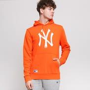 New Era MLB Seasonal Team Logo Hoody NY oranžová / bílá