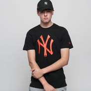 New Era MLB Seasonal Team Logo Tee NY black / orange