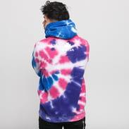 Pink Dolphin Frozen Waves Hoodie fialová / modrá / růžová / bílá