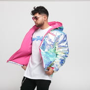 Pink Dolphin Iridescent Puffer multicolor
