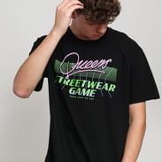 Queens Streetwear Game Tee černé
