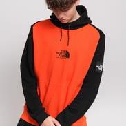 The North Face M Fine Alpine Hoody oranžová / černá