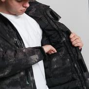 Urban Classics Multipocket Winter Jacket camo zelená / hnědá