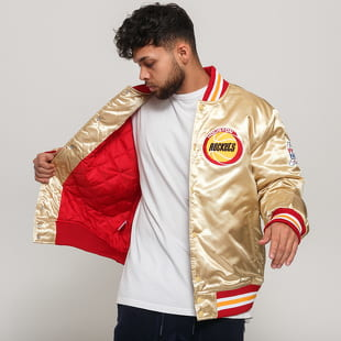 Mitchell & Ness NBA Championsip Game Satin Jacket Houston Rockets