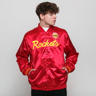 Mitchell & Ness NBA Special Script Satine Jacket Houston Rockets