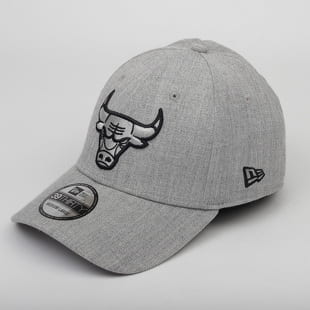 New Era 3930 NBA Heather Essential Chicago Bulls