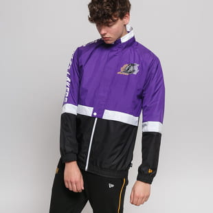 New Era NBA Colour Block Track Jacket LA Lakers