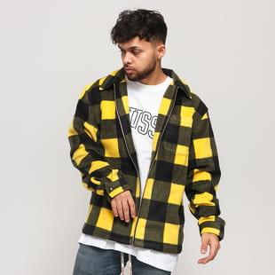 Stüssy Polar Fleece Zip Up Shirt