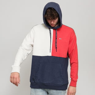 TOMMY JEANS M Contrast Sleeve Hoodie