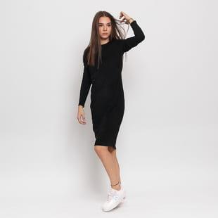 Urban Classics Ladies Peached Rib Dress LS